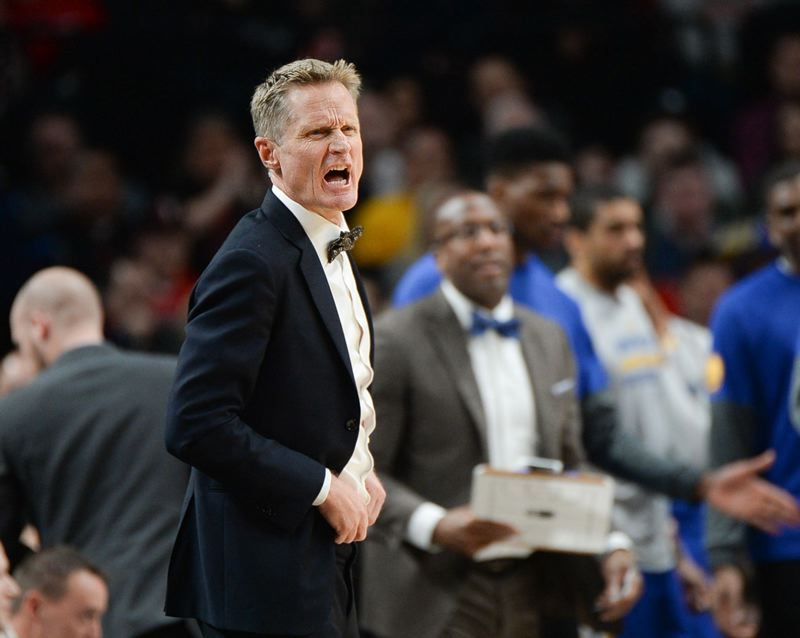 TRIBUNE FILE PHOTO: JONATHAN HOUSE - Some of the year;s most memorable comments came from Golden State Warriors coach Steve Kerr.