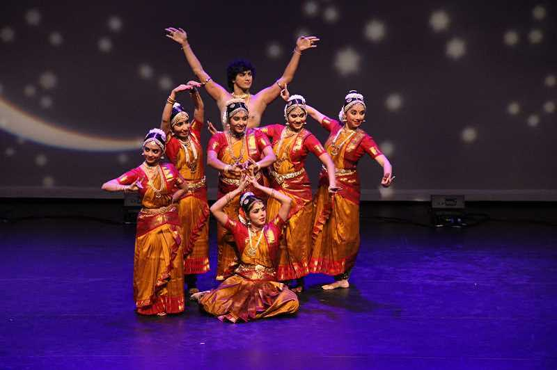 "TIMES FILE PHOTO - Jayanthi Raman's ""Dance of the Hummingbirds"" premiered at the Portland5 Winnigstad Theatre, before Raman performed excerpts at the Beaverton City Library."