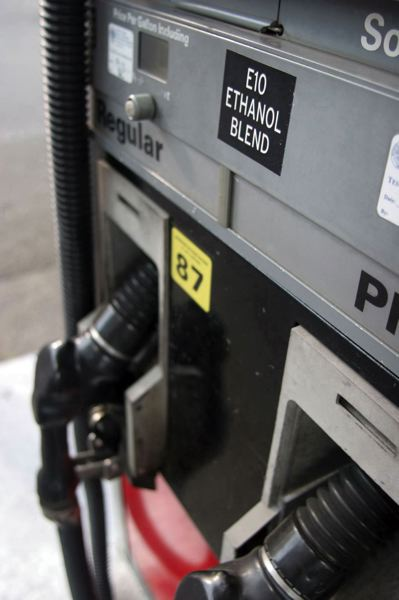 PAMPLIN FILE PHOTO - Gas pump
