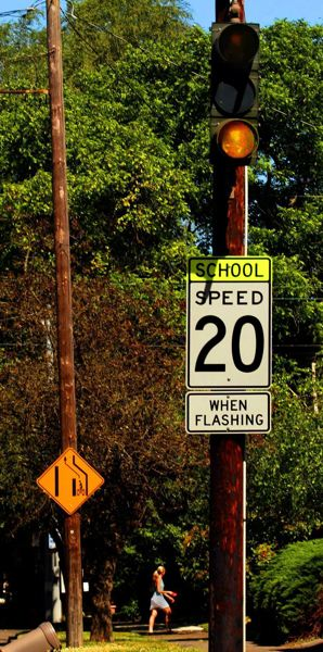 PAMPLIN FILE PHOTO - School zone