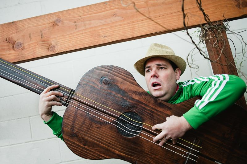 COURTESY PHOTO - Musician Mo Phillips is the star of the show on Super Saturday, Jan. 13,  at North Plains Library.