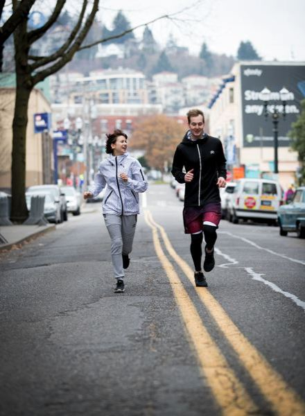 PAMPLIN MEDIA GROUP: FILE PHOTO - Young Portland spouses and entrepreneurs Christopher and Amy Rohrer