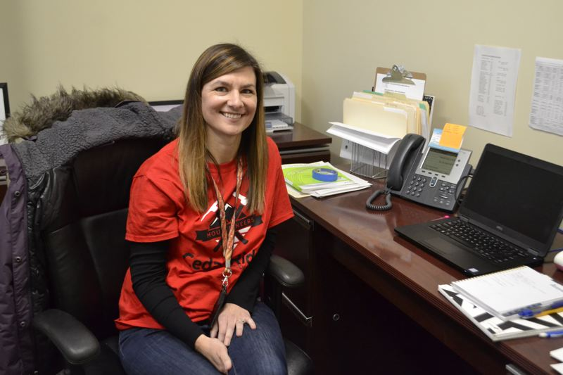 POST PHOTO: BRITTANY ALLEN - Becky Curry has worked as the counselor at Cedar Ridge Middle School for 14 years.