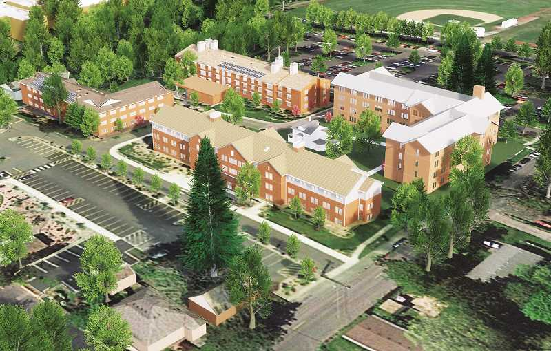 IMAGE COURTESY OF GEORGE FOX UNIVERSITY - Graphic photo: Gary Allen