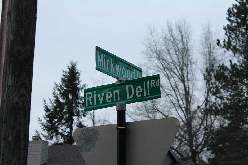 REVIEW PHOTO: ANTHONY MACUK - One corner of the Westridge neighborhood features a group of streets all named after locations in J.R.R. Tolkien books, including Mirkwood Drive, Lothlorien Way and Moria Court.