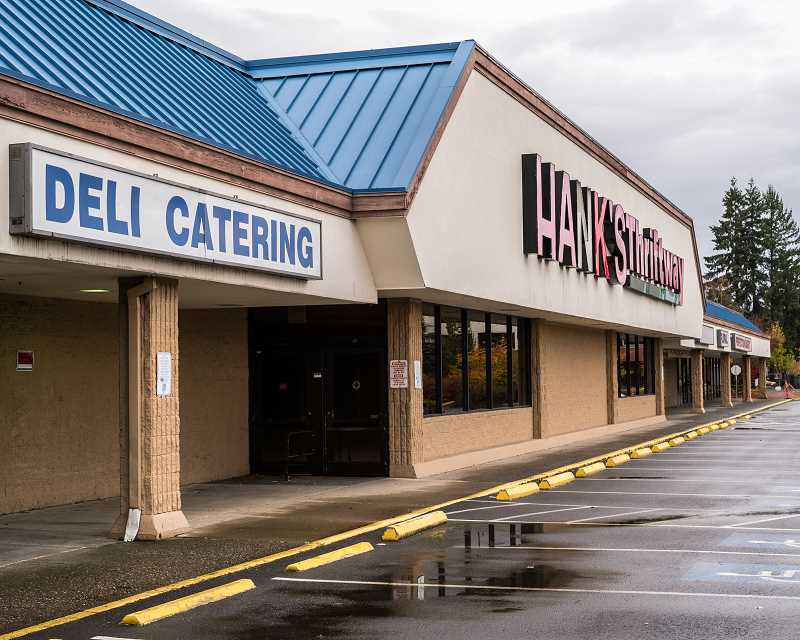 HILLSBORO TRIBUNE FILE PHOTO - Downtown Hillsboro supermarket Hanks Thriftway closed in 2015, but city officials say bringing a mix of apartments and businesses to the site could be on the way.