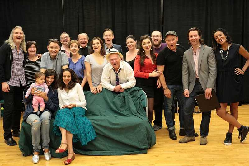 SUBMITTED PHOTO: COREY BRUNISH - Corey Brunish recruited a group of local actors for a reading of 'My Marcello' at the Lakewood Center for the Arts in the summer of 2015.