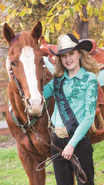 Molalla's Addy Crouch will be crowned Miss Teen Rodeo Oregon on Jan. 27.