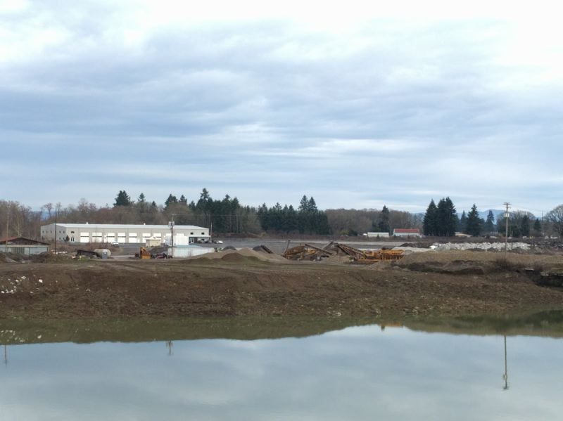 SPOTLIGHT PHOTO: COURTNEY VAUGHN - The site of the Oregon Manufacturing Innovation Center in Scappoose is likely to house a new OSG tools site. OSG is currently in talks with the property owner of the gravel pit site to buy about six acres of land to develop.