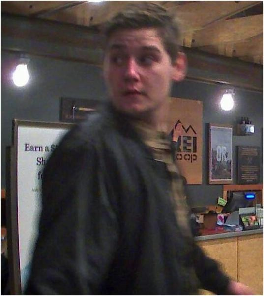 PHOTO COURTESY TUALATIN POLICE - Investigators seek information into a theft of coats in December.