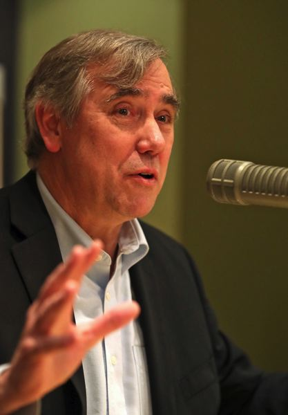 TRIBUNE PHOTO: JAIME VALDEZ - Merkley expressed confidence that programs like DACA and CHIP will be reauthorized.
