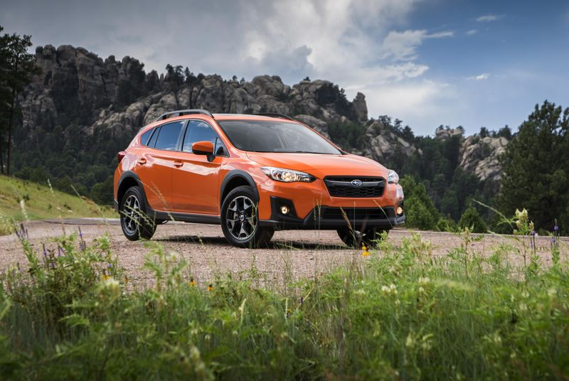 SUBARU OF AMERICA - The 2018 Subaru Crosstrek is designed for those with an active lifestyle. It is small enough for easy city driving, but has 8.7 inches of ride height and standard all-wheel-drive for outdoor getaways.