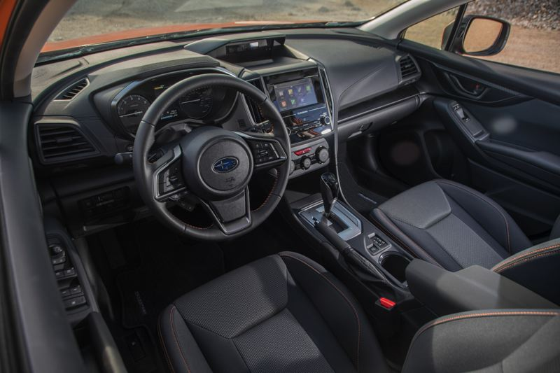 SUBARU OF AMERICA - The interior of the 2018 Subaru Crosstek is clean and functional. It comes standard with a six-speed automatic but can be ordered with a Continuously Variable Transmission.