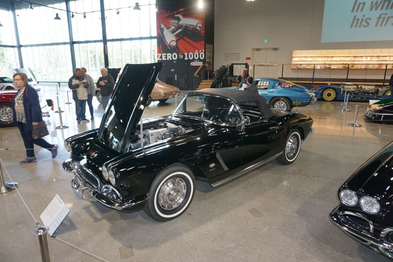 "PORTLAND TRIBUNE: JEFF ZURSCHMEIDE - This rare fuel-injected Corvette from the 1950s is part of the display, as is the famous red and white model used in the movie ""Animal House."""