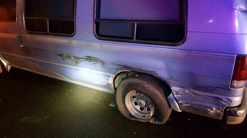 OREGON STATE POLICE - A Wilsonville man was killed Friday, Jan. 5, as he stood outside his vehicle parked on the emergency shoulder of SR 551, the Wilsonville-Hubbard Highway.