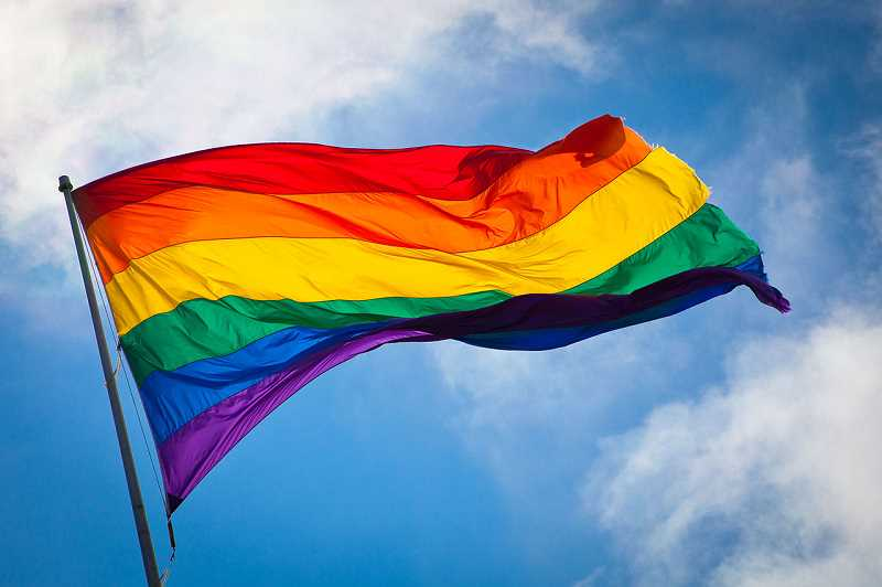 A few Banks High School teachers hung up rainbow flags in their classrooms to support LGBTQ youth. That started a rumor that rainbow flags replaced American ones.