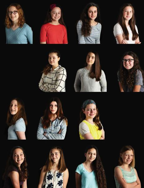 COURTESY: WENDI NORDECK - A new cookbook by former Beverly Cleary School students spotlights the plight of Jane Goodall's mission. Now high school freshmen, the students are:
