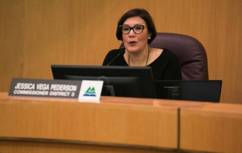 COURTESY PHOTO: MULTNOMAH COUNTY - Commissioner Jessica Vega Pederson, who represents central Multnomah County, co-sponsored the wood smoke ordinance.