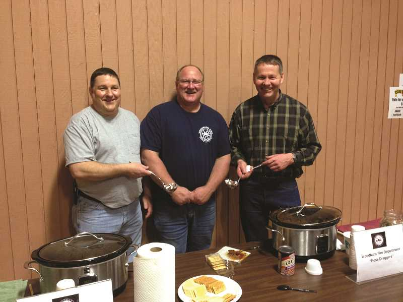 COURTESY PHOTO - The Woodburn Fire District won the chili cookoff in 2016.