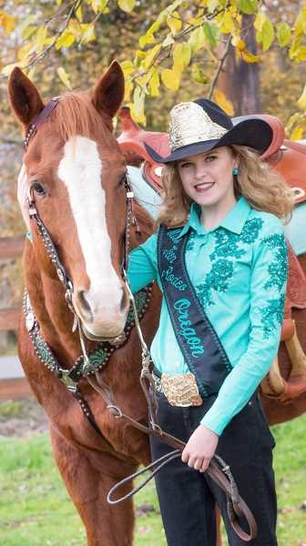 Addy Crouch will be crowned Miss Teen Rodeo Oregon on Jan. 27.