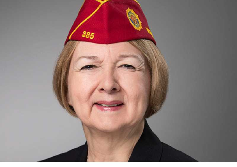 Denise Rohan, American Legion national commander, will be in Canby on Jan. 11.
