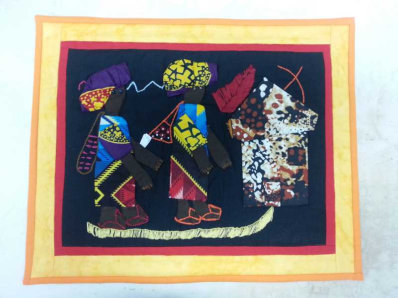 Quilts for Empowerment helps transition abused Kenyan women into a healthier enviroment through quilt projects.