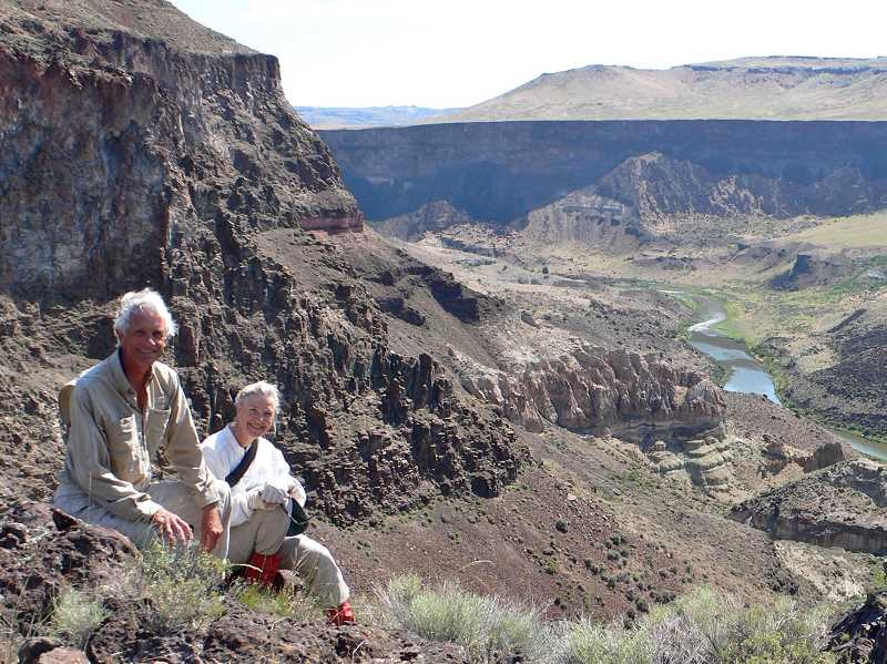 SUBMITTED PHOTOS  - Bonnie Olin and Mike H. Quigley of Junction City, Oregon are intent on sharing the story of the unique Owyhee Canyonlands with Oregonians. Attend their presentation taking place Jan. 23.