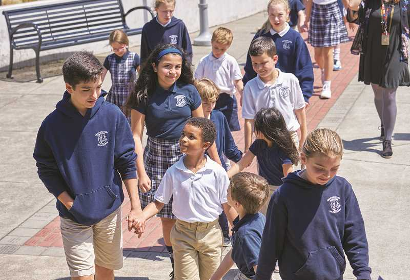 SUBMITTED PHOTO - Our Lady of the Lake Catholic School will celebrate National Catholic School Week with an open house on Jan. 28. The K-8 school is ls located at 650 A Ave. in Lake Oswego.