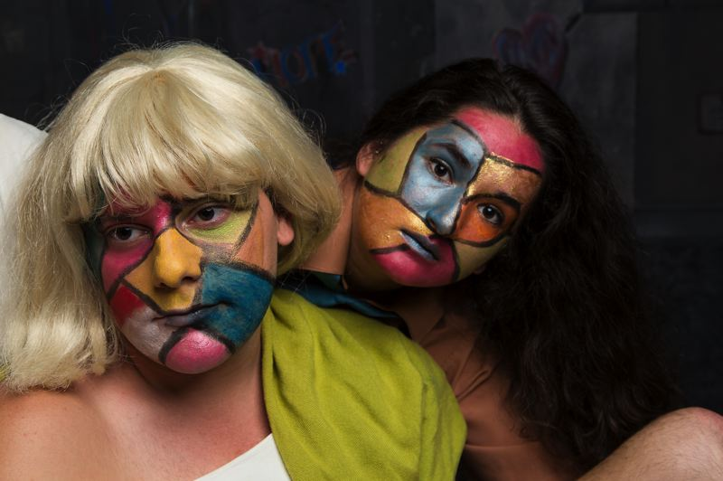 COURTESY: RUSSELL YOUNG - As part of Fertile Ground Festival, 'Bi-' is a fully staged world premiere about gender identity at Milagro Theatre, featuring the likes of Justin Charles and Sierra Brambila.