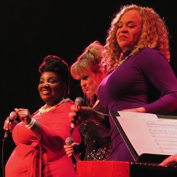 COURTESY: JANELL DENK - 'Just This One' at Fertile Ground stars Saeeda Wright, Lisa Mann and LaRhonda Steele.