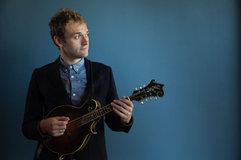 COURTESY: DEVIN PEDDE - Chris Thile took over as host of 'A Prairie Home Companion' from Garrison Keillor, and the show has been renamed 'Live From Here.' The variety show takes place Saturday, Jan. 13 at Keller Auditorium.