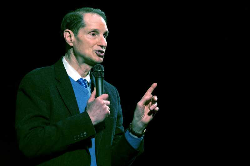 PMG FILE PHOTO - U.S. Sen. Ron Wyden will apper at 4 p.m. Sunday at the Chehalem Cultural Center in his 866th town hall meeting since being elected.