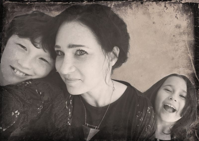 PHOTO COURTESY OF RACHEL OROURKE  - O'Rourke, pictured with her own children, hopes the show will increase empathy for people experiencing homelessness.