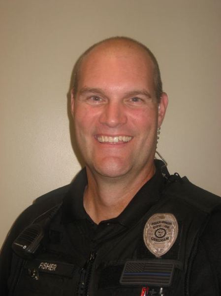 SCHOOL PHOTO - H.B. Lee Elementary School Resource Officer Toby Fisher