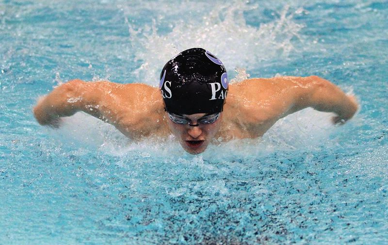 REVIEW PHOTO: MILES VANCE - Lakeridge senior Matt McComish is back to lead the Pacers in 2018 after winning a Three Rivers League district title in 2017 and qualifying for state in four events.