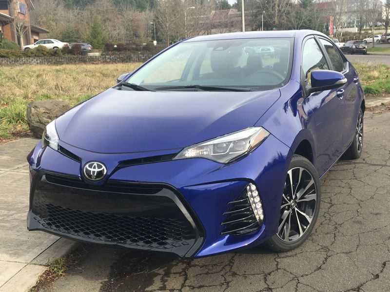 PORTLAND TRIBUNE: JEFF ZURSCHMEIDE - If you like a small car with a sporty feel, the 2018 Toyota Corolla has what you're looking for.