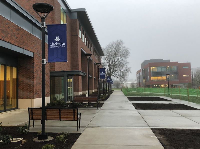 PHOTO COURTESY: CCC - Clackamas Community College's Harmony West building on the Harmony Community Campus in Milwaukie opened to students Jan. 8.