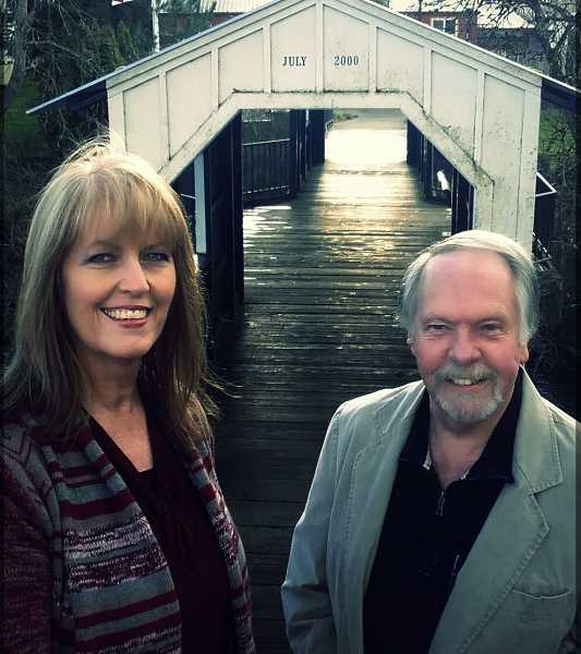 Nex of Kin are Alan and Lous Mickelson from Silverton, a father and daughter-in-law duo. They'll be at the Canby Public Library Saturday for Music in the Stacks.