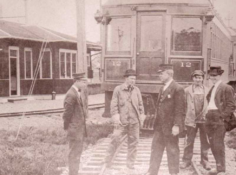 COURTESY PHOTO: MOUNT ANGEL HERITAGE TRAIL COMMITTEE - The Southern Pacific Rail Depot, which began service in 1915, is another stop on the trail.