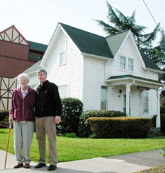 COURTESY PHOTO: MOUNT ANGEL HERITAGE TRAIL COMMITTEE - The Saalfed House is another stop on the trail.