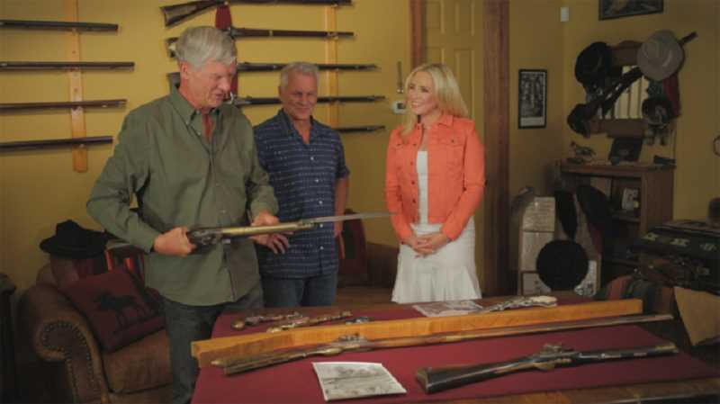 COURTESY PHOTO - Brian and Tim Marek speak with 'Strange Inheritance' host Jamie Colby on Tuesday's episode of the Fox Business Network reality show.