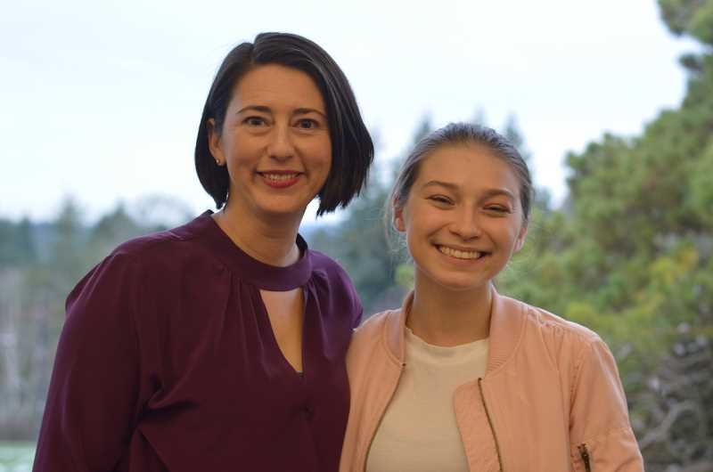 PAMPLIN MEDIA GROUP PHOTO: CLARA HOWELL  - Julie Davidson (left) and Lakeridge High School junior Lily Barna (right) are passionate about helping those diagnosed with cancer and advocating for the Leukemia & Lymphoma Society.