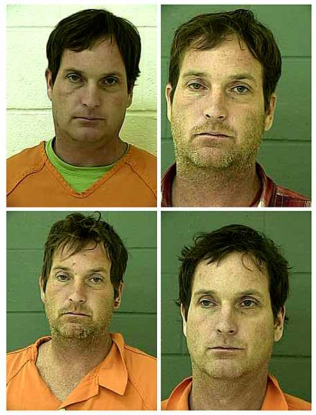 VIA THE NORTHERN OREGON REGIONAL CORRECTIONAL FACILITY - Andrew Oshea, a former Portland Public Schools teacher, in mugshots from the Northern Oregon Regional Correctional Facility.
