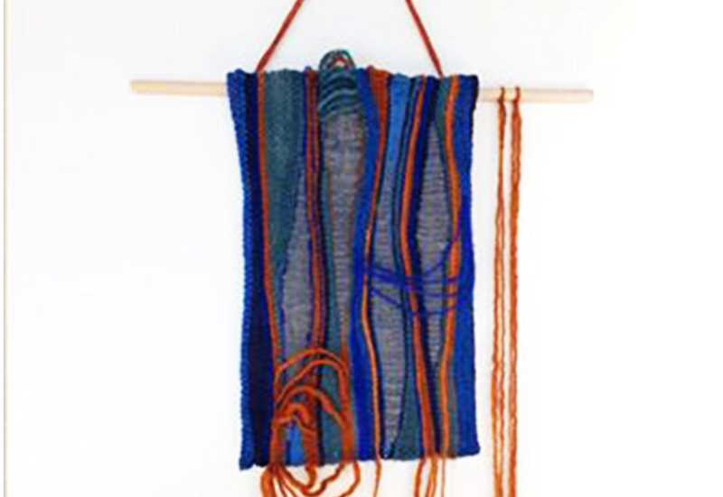 SUBMITTED - A double artist exhibition titled 'Wooden/Woven' is on display at the Chehalem Cultural Center through March 10 and features the work of textile artist Jamie Lefcovich and reclaimed wood lath artist Cyan Bott.