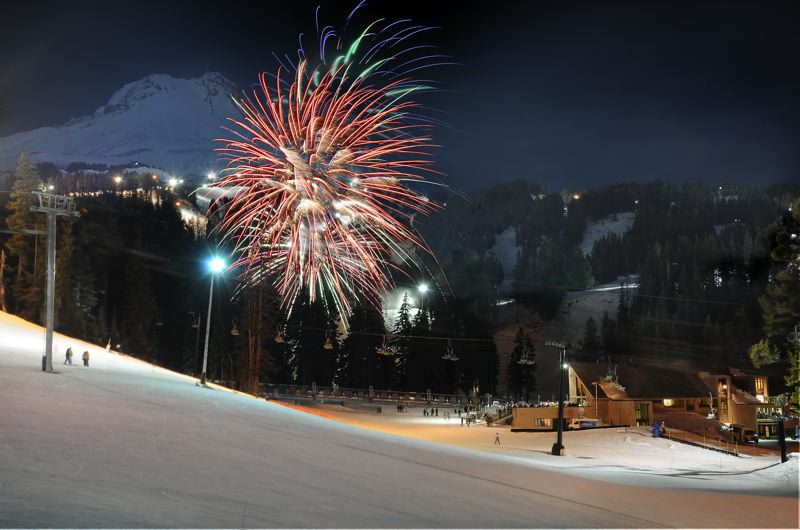 CONTRIBUTED PHOTO: JAY CARROLL - The Jan. 27 Mt. Hood Meadows 50th anniversary party is set to include a contest to win a 50-year pass to the resort, a retro skiwear fashion show, live music, a fireworks show and much more.