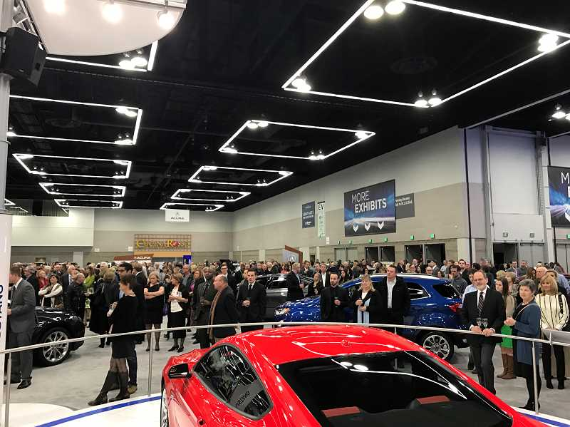 PHOTO COURTESY OF PMNCDA - The entire 2018 Portland International Auto Show will be available before it opens to the general public for those attending the Sneak Peek Charity Party on Jan. 24.