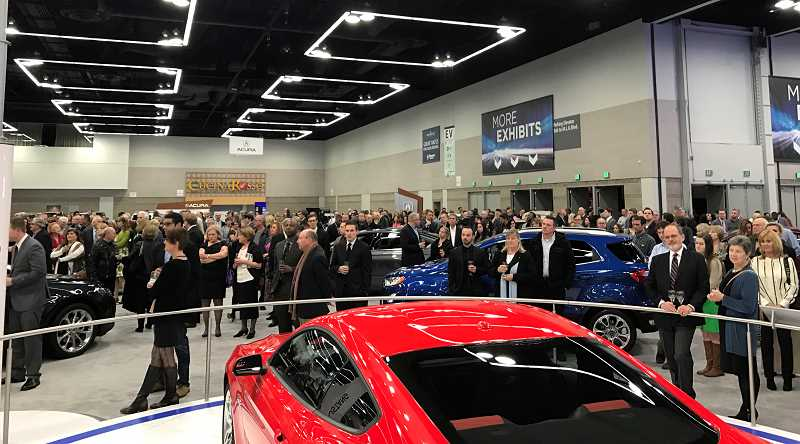 PHOTO COURTESY OF PMNCDA - The entire 2018 Portland International Auto Show will be available before it opens to the general public for those attending the Sneak Peek Charity Party on Jan. 23.