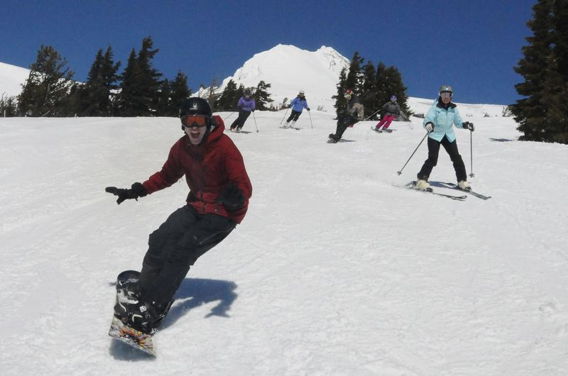 COURTESY PHOTO - While Timberline Lodge has received more publicity over the years, being part of a project during the Great Depression, Mt. Hood Meadows and its slopes mark a milestone in 2018 — 50 years in business.