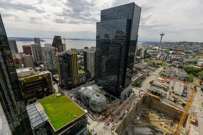 COURTESY PHOTO - Amazon didn't select a Portland-area city for its second headquarters, to go along with its Seattle offices.