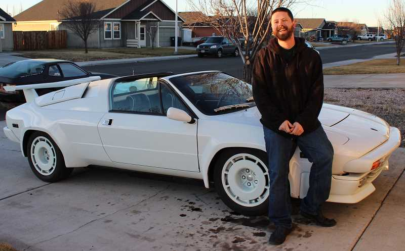 HOLLY SCHOLZ - Derek McCallister, who was raised in Prineville and now lives in Redmond, restored this 1987 Jalpa Lamborghini. The Wall Street Journal featured him earlier this month.